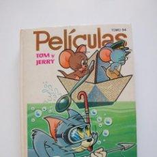 Tebeos: PELÍCULAS TOM Y JERRY TOMO 54 - COLECCIÓN JOVIAL - EDICIONES RECREATIVAS E.R.S.A. 1ª ED. 1982. Lote 205520947