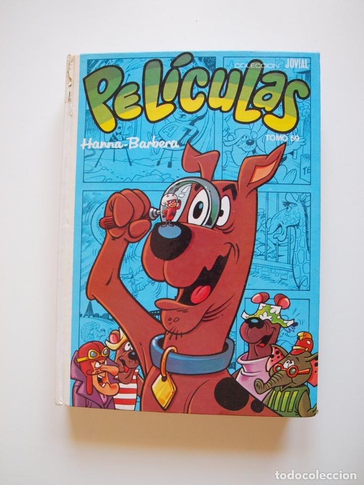 PELÍCULAS HANNA-BARBERA TOMO 59 - COLECCIÓN JOVIAL - EDICIONES RECREATIVAS E.R.S.A. 1ª ED. 1983 (Tebeos y Comics - Ersa)