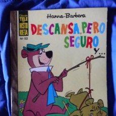 Tebeos: TELE HISTORIETA HANNA-BARBERA DESCANSA, PERO SEGURO Y... Nº 52. Lote 205724341