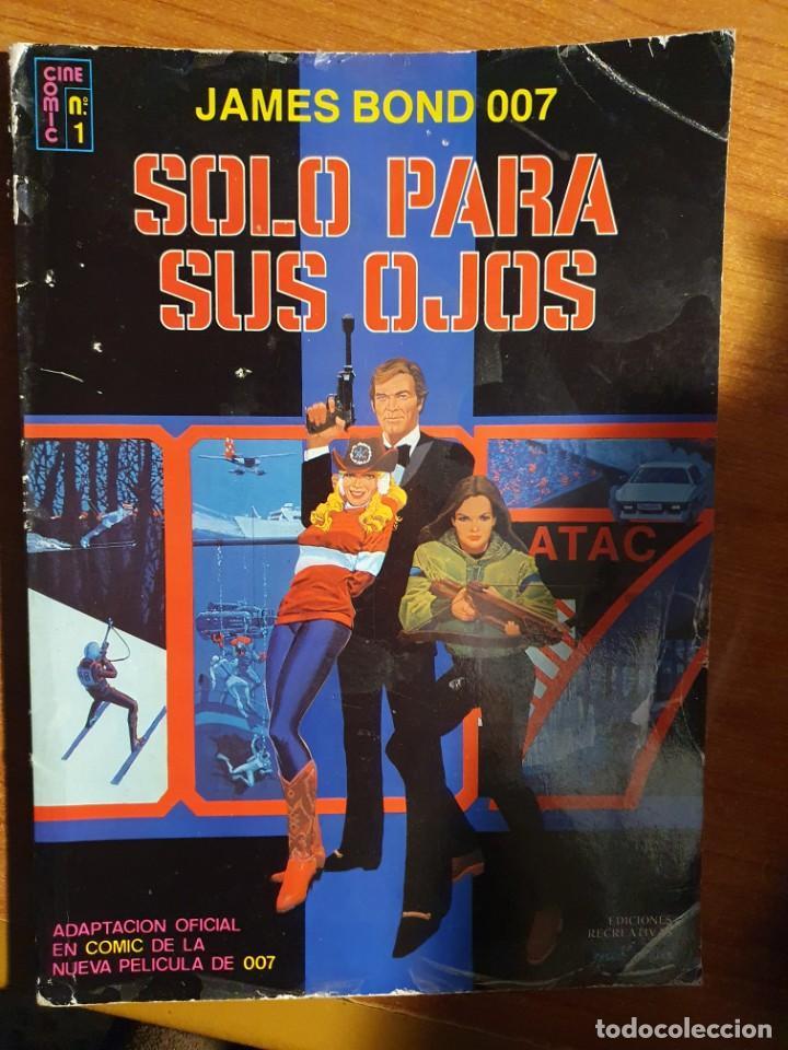 JAMES BOND 007 SOLO PARA SUS OJOS - PEDIDO MINIMO 6€ (Tebeos y Comics - Ersa)