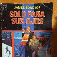 Tebeos: JAMES BOND 007 SOLO PARA SUS OJOS - PEDIDO MINIMO 6€. Lote 205750031