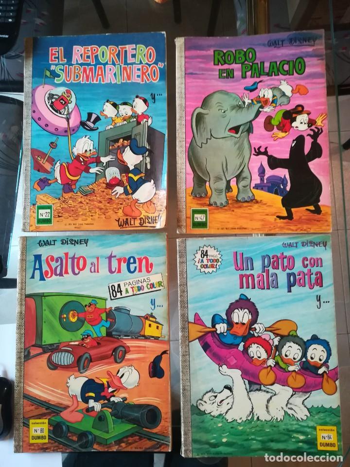COLECCION DUMBO. DISNEY - ERSA 1974. NÚM: 22-47-80-84 (Tebeos y Comics - Ersa)