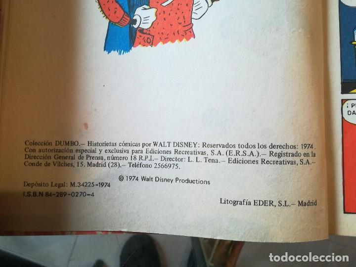 Tebeos: COLECCION DUMBO. DISNEY - ERSA 1974. NÚM: 22-47-80-84 - Foto 3 - 206313938