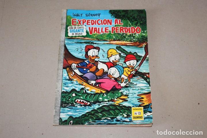 COLECCIÓN DUMBO ERSA. Nº 13: EXPEDICION AL VALLE PERDIDO - AÑO: 1971 - WALT DISNEY (Tebeos y Comics - Ersa)