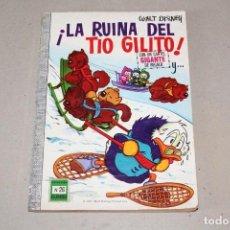 Tebeos: COLECCIÓN DUMBO ERSA. Nº 26: LA RUINA DEL TIO GILITO - AÑO: 1972 - WALT DISNEY. Lote 206334373