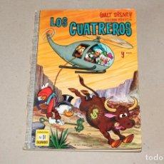 Tebeos: COLECCIÓN DUMBO ERSA. Nº 31: LOS CUATREROS - AÑO: 1970 - WALT DISNEY. Lote 206354361