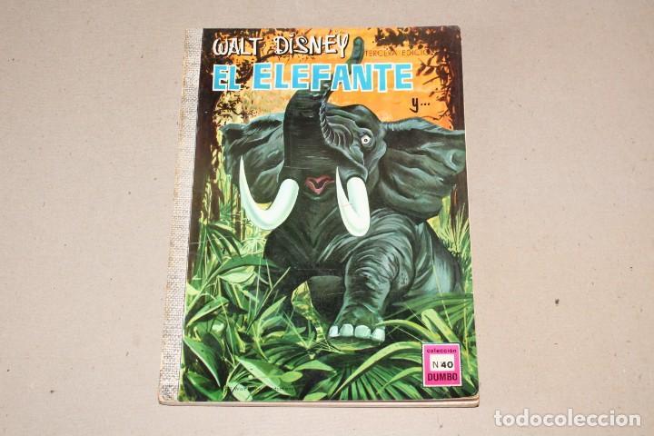 COLECCIÓN DUMBO ERSA. Nº 40: BORRON EL FUGITIVO - AÑO: 1971 - WALT DISNEY (Tebeos y Comics - Ersa)
