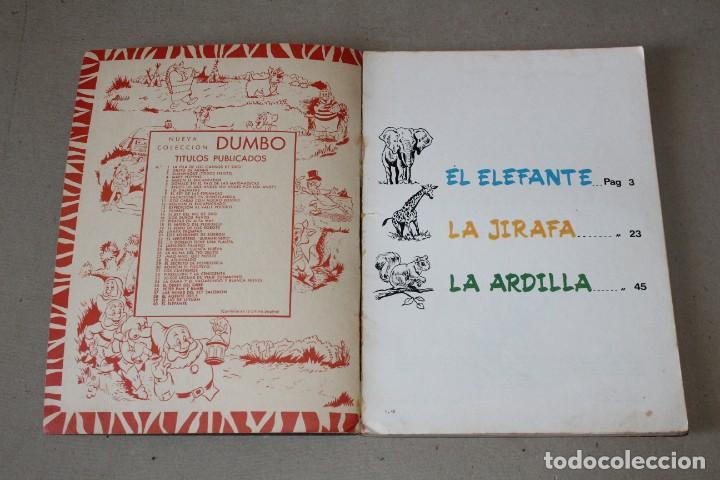 Tebeos: COLECCIÓN DUMBO ERSA. Nº 40: BORRON EL FUGITIVO - AÑO: 1971 - WALT DISNEY - Foto 2 - 206354998