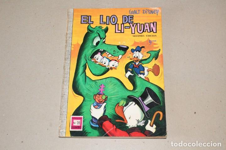 COLECCIÓN DUMBO ERSA. Nº 39: EL LIO DE LI YUAN - AÑO: 1971 - WALT DISNEY (Tebeos y Comics - Ersa)