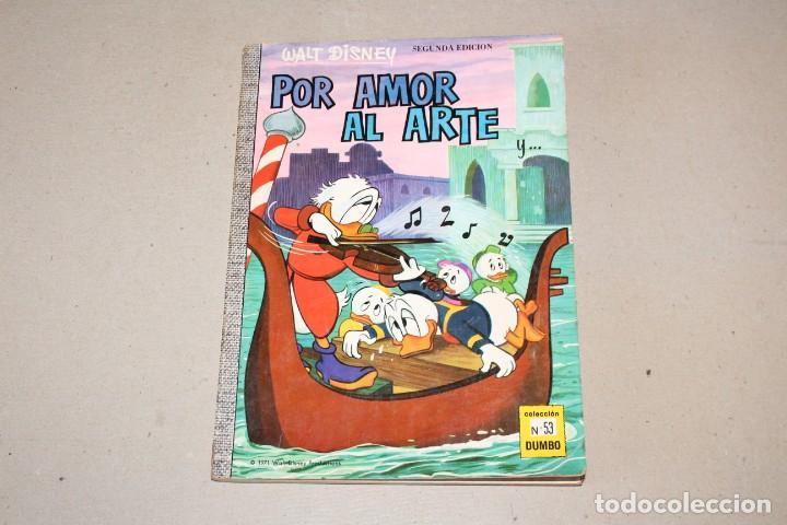 COLECCIÓN DUMBO ERSA. Nº 53: POR AMOR AL ARTE - AÑO: 1971 - WALT DISNEY (Tebeos y Comics - Ersa)
