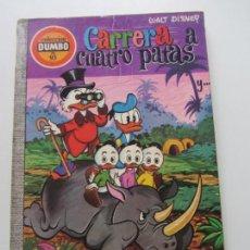 BDs: COLECCIÓN DUMBO Nº 93 : CARRERA A CUATRO PATAS EDICIONES ERSA WALT DISNEY E1. Lote 206809441