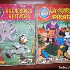Tebeos: COMIC DUMBO DISNEY ERSA 102 VACACIONES AGITADAS Y 135 LA GUARIDA DE LOS PIRATAS 2 COMICS. Lote 207037567