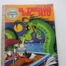 Tebeos: COLECCIÓN DUMBO Nº 91 EL TERROR DEL RIO EDICIONES ERSA WALT DISNEY E1. Lote 207123798