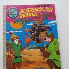 Tebeos: COLECCIÓN DUMBO Nº 133 AL SERVICIO DEL REY RICARDO EDICIONES ERSA WALT DISNEY E1. Lote 207124062