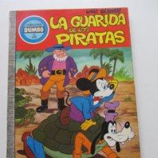Tebeos: COLECCIÓN DUMBO Nº 135 LA GUARIDA DE LOS PIRATAS EDICIONES ERSA WALT DISNEY E1. Lote 207124211