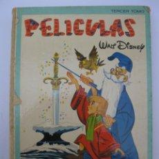 Tebeos: PELÍCULAS - WALT DISNEY - TOMO 3 - COLECCIÓN JOVIAL - E.R.S.A. - AÑO 1978.. Lote 207848271