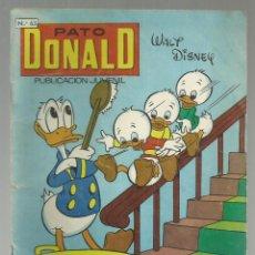 Tebeos: PATO DONALD, Nº 63 PUBLICACION JUVENIL. EDICIONES ERSA NOVIEMBRE 1968. Lote 208137372