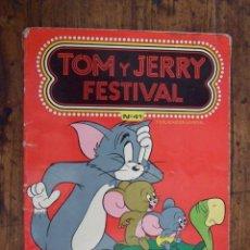 Tebeos: TOM Y JERRY FESTIVAL Nº 41 - ERSA EDICIONES RECREATIVAS - LAS TAPAS TIENEN SEÑALES DE USO. Lote 208873401