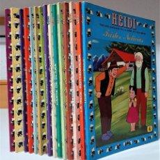 Tebeos: LOTE COMICS HEIDI (ERSA 1975/79) ***MUY BUEN ESTADO***. Lote 209006318