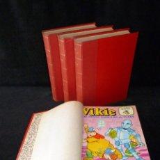 Tebeos: VIKIE EL VIKINGO DE LA TELE. 4 TOMOS, Nº DEL 9 AL 36 CORRELATIVOS. EDICIONES RECREATIVAS ERSA. 1975-. Lote 209202780