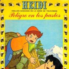 Tebeos: HEIDI PELIGRO EN LOS PASTOS Nº 2 EDICIONES RECREATIVAS. Lote 210132718