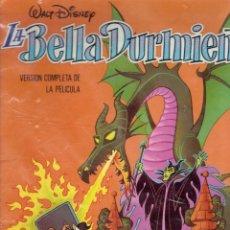 Tebeos: WALT DISNEY LA BELLA DURMIENTE VERSION COMPLETA COLECCION CUCAÑA N,10 1977. Lote 210658320