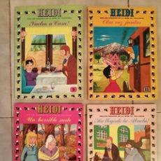 Tebeos: LOTE 4 COMIC TEBEO HEIDE ERSA N° 9,11,12 EDICIONES RECREATIVAS 1976 ZUIYO. Lote 216729587