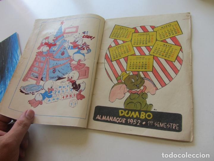 Tebeos: ALMANAQUE DUMBO 1952 ERSA EDICIONES RECREATIVAS C24x5 - Foto 3 - 218903011
