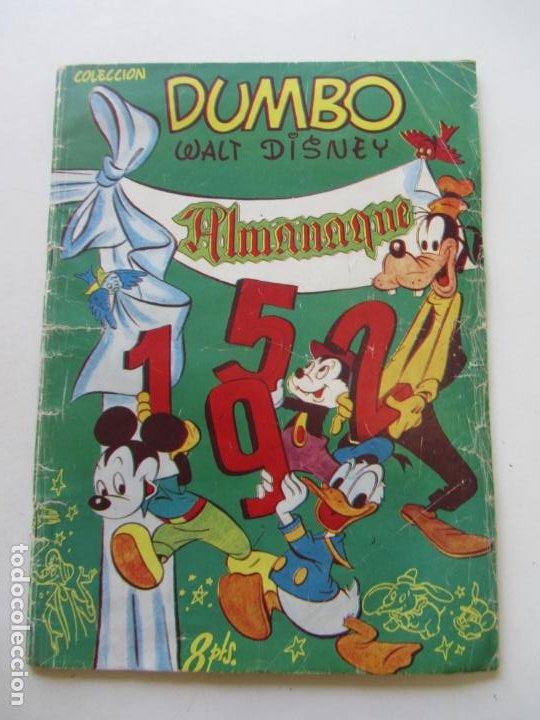 ALMANAQUE DUMBO 1952 ERSA EDICIONES RECREATIVAS C24X5 (Tebeos y Comics - Ersa)