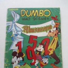 Tebeos: ALMANAQUE DUMBO 1952 ERSA EDICIONES RECREATIVAS C24X5. Lote 218903011