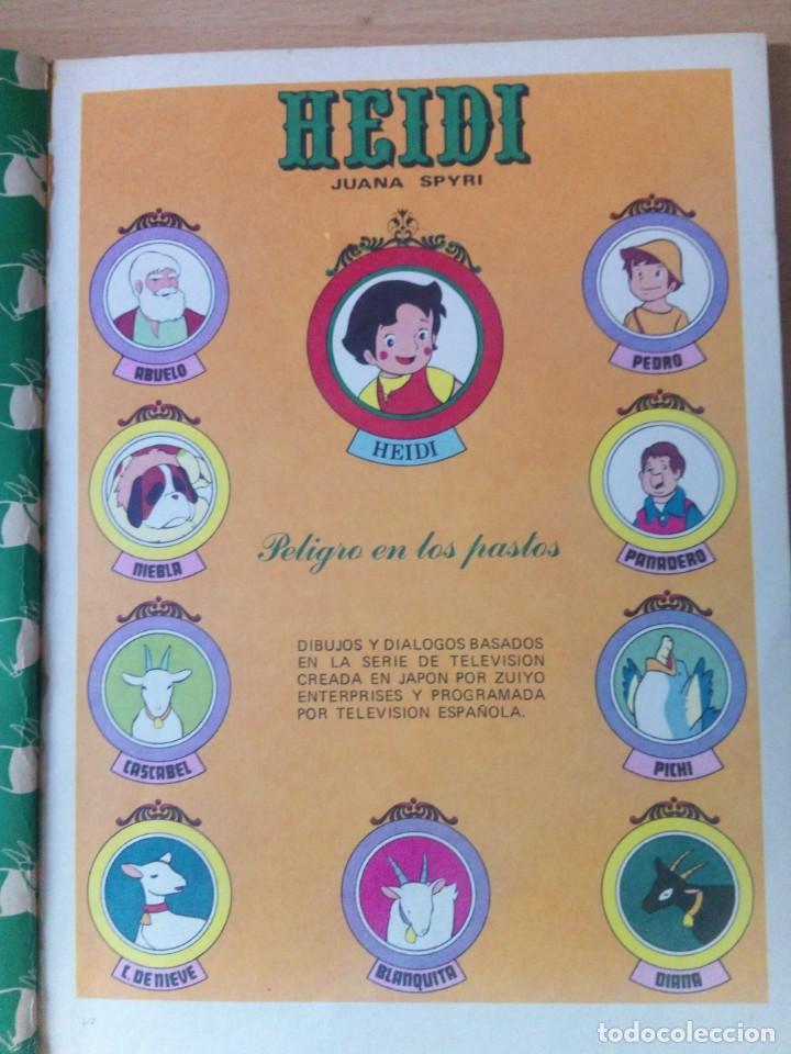 Tebeos: COLECCION INCOMPLETA DE HEIDI AÑO 1976 - Foto 3 - 219065332