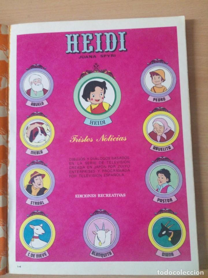 Tebeos: COLECCION INCOMPLETA DE HEIDI AÑO 1976 - Foto 7 - 219065332
