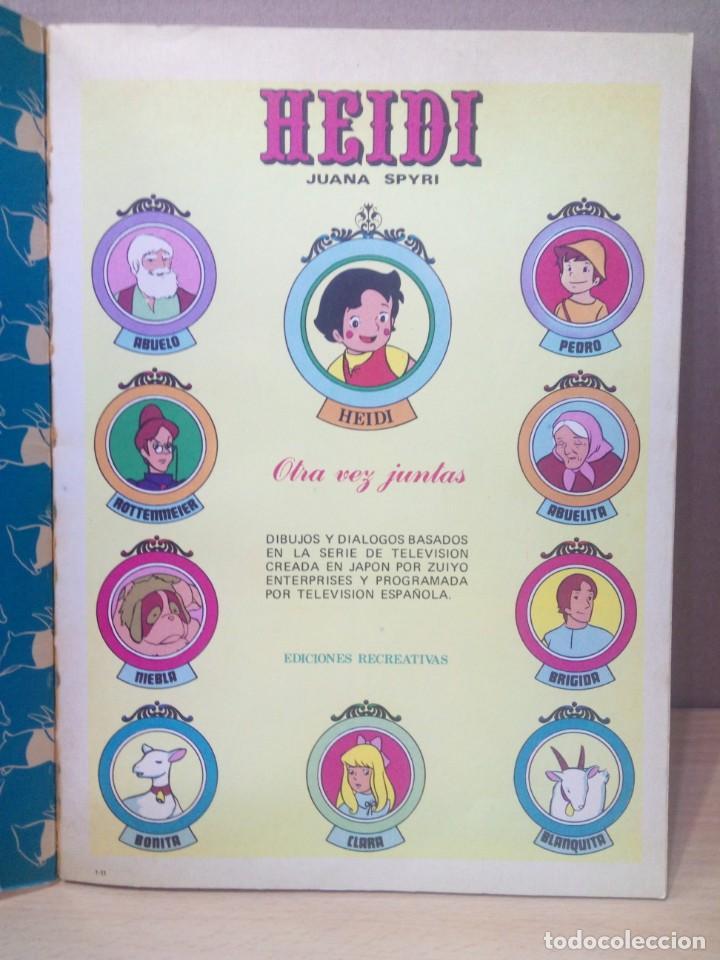 Tebeos: COLECCION INCOMPLETA DE HEIDI AÑO 1976 - Foto 30 - 219065332
