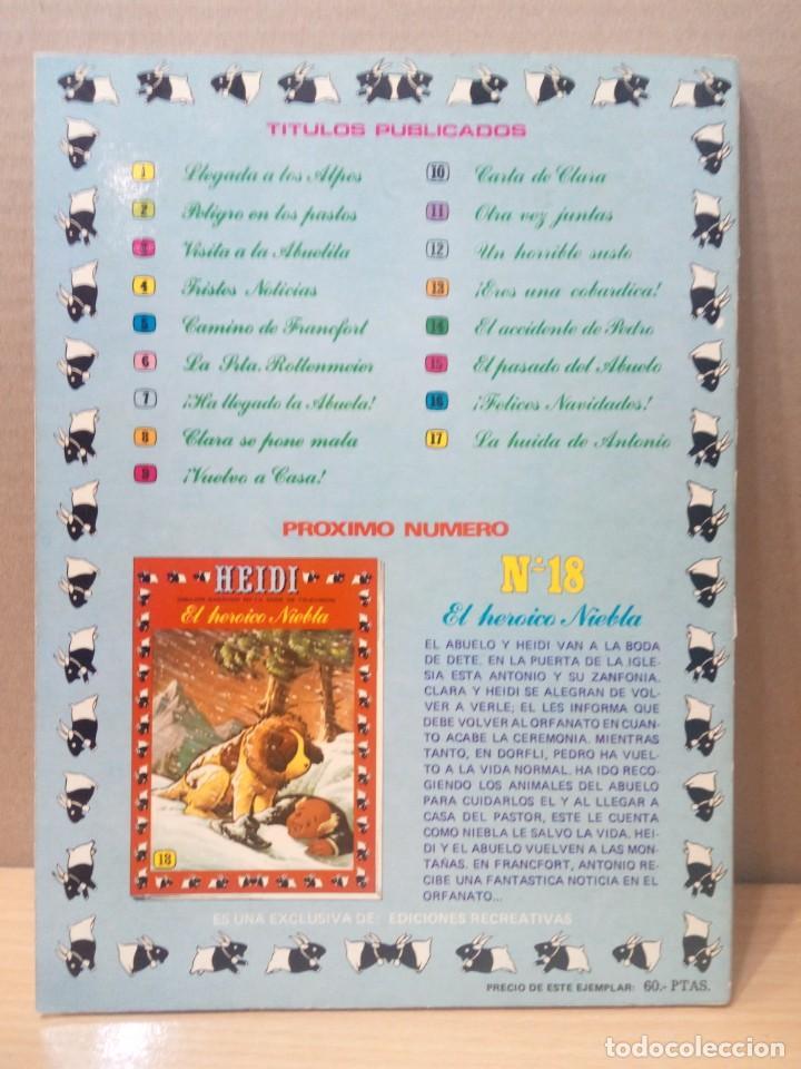 Tebeos: COLECCION INCOMPLETA DE HEIDI AÑO 1976 - Foto 44 - 219065332