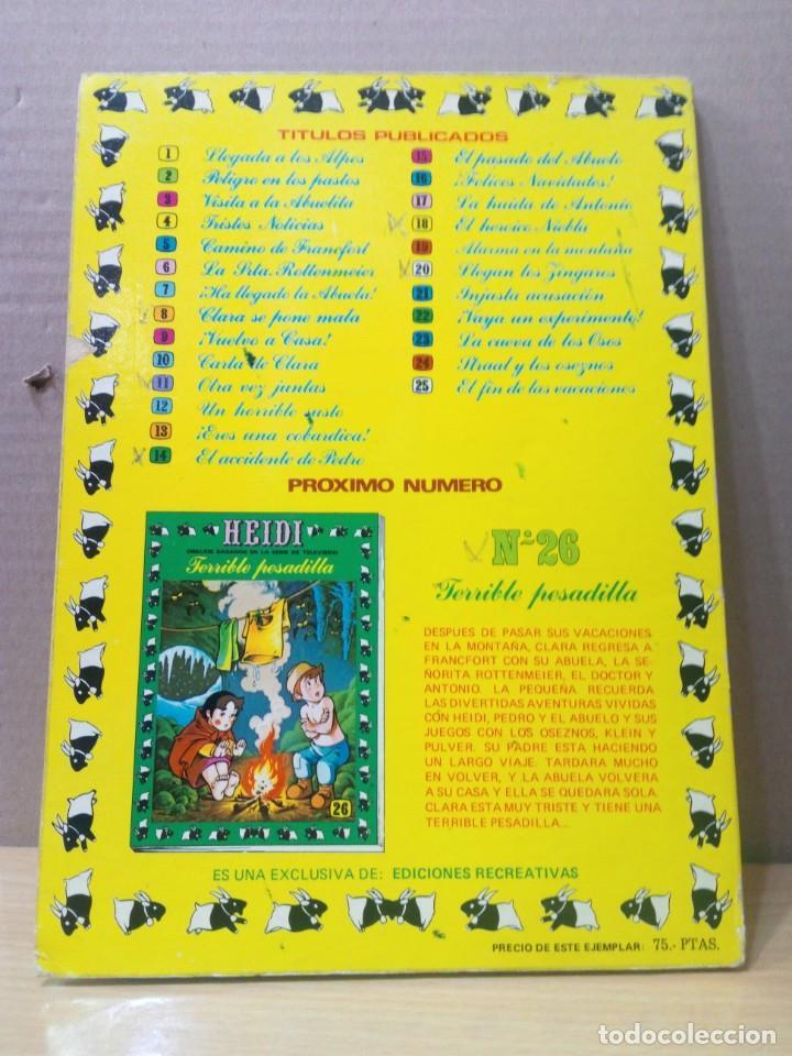 Tebeos: COLECCION INCOMPLETA DE HEIDI AÑO 1976 - Foto 55 - 219065332