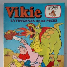 Tebeos: VIKIE N 7 LA VENGANZA DE LOS PECES EL VIKINGO DE LA TELE. Lote 221529823