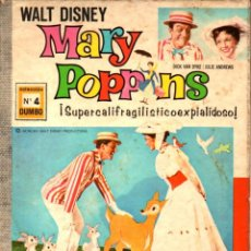 Tebeos: WALT DISNEY DUMBO Nº 4 - MARY POPPINS. Lote 222455411
