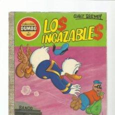 Tebeos: DUMBO 103: LOS INCAZABLES, 1973, EDICIONES RECREATIVAS, BUEN ESTADO. Lote 222551352