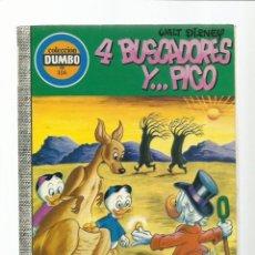 Tebeos: DUMBO 116:4 BUSCADORES Y... PICO, 1974, EDICIONES RECREATIVAS, BUEN ESTADO. Lote 222552678
