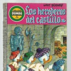 Tebeos: DUMBO 118: LOS HEREDEROS DEL CASTILLO, 1974, EDICIONES RECREATIVAS, BUEN ESTADO. Lote 222553113