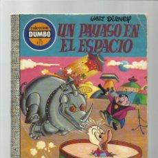 Tebeos: DUMBO 122: UN PAYASO EN EL ESPACIO, 1975, EDICIONES RECREATIVAS,. Lote 222553498