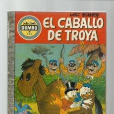 Tebeos: DUMBO 123: EL CABALLO DE TROYA, 1975, EDICIONES RECREATIVAS, BUEN ESTADO. Lote 222553662