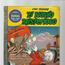 Tebeos: DUMBO 128: EL NAVÍO MISTERIOSO, 1975, EDICIONES RECREATIVAS. Lote 222553977