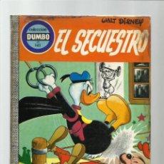 Tebeos: DUMBO 141: EL SECUESTRO, 1976, EDICIONES RECREATIVAS. Lote 222582625