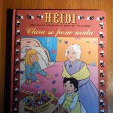 Tebeos: HEIDI - Nº 8 - CLARA SE PONE MALA - ERSA 1988. Lote 223070215
