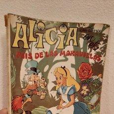 Tebeos: COMIC TEBEO ALICIA EN EL PAIS DE LAS MARAVILLAS CUCUÑA Nº3 WALT DISNEY JUNIOR ERSA 1986 LIBRO CUENTO. Lote 226664500