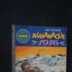 Tebeos: ALMANAQUE 1976, COLECCION DUMBO NUMERO 132, EDICIONES E.R.S.A.. Lote 231147435