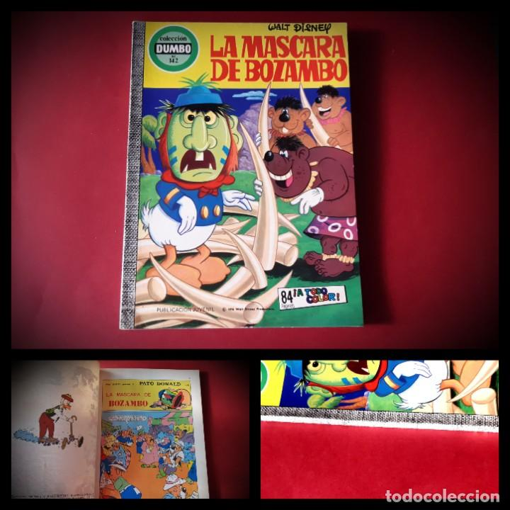 DUMBO ERSA Nº 142 LA MASCARA DE BOZAMBO -EXCELENTE ESTADO (Tebeos y Comics - Ersa)