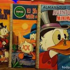 Tebeos: LOTE 3 COMICS AVENTURAS DEL TIO GILITO, PATO DONALD. Lote 232640835