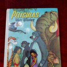 Tebeos: COLECCION JOVIAL PELÍCULAS WALT DISNEY TOMO 8-1982 /EL LIBRO DE LA SELVA/PLUTO/MICKEY/PATO DONALD. Lote 232884960
